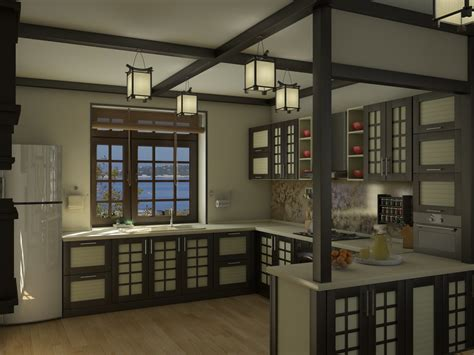 Japanese Style Kitchen | 50 best modern kitchen cabinet ideas interiorsherpa