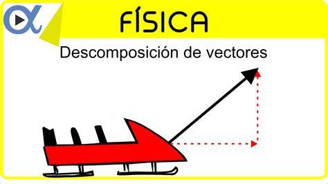 imagenes de vectores fisica descomposici 243 n de vectores ejemplo 1 de 4 f 237 sica