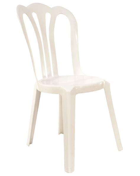 White Plastic Bistro Chairs Plastic Chairs Celebration Rentals Inc