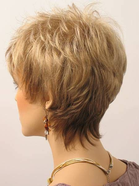 Image result for Short Haircuts for Women Over 50 Back View    GlavPortal