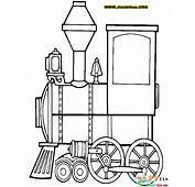 火车简笔画大全12张图片第9张