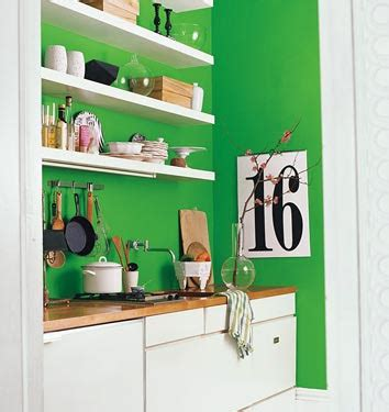 kitchens with shelves green b chic design tiny rental kitchen