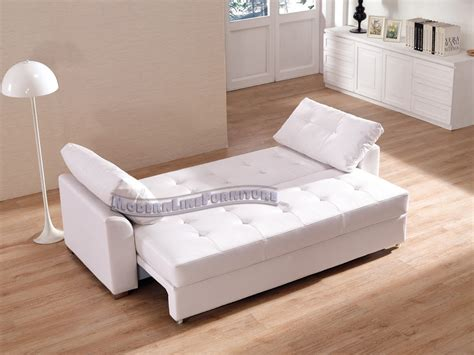 white sectional sleeper sofa white leather sleeper sofa smalltowndjs com
