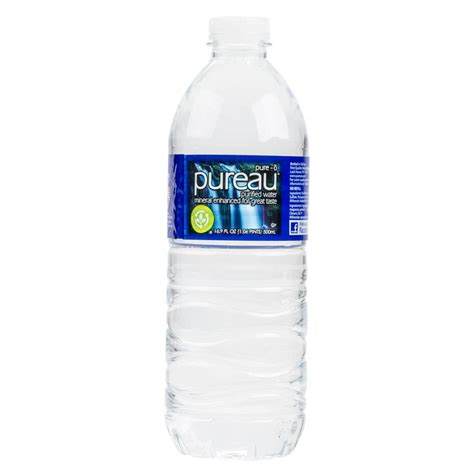 It List Water Bottle by 16 9 Oz Purified Bottled Water 24