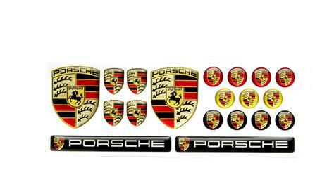 Porsche Emblem by Porsche Emblems Big Set