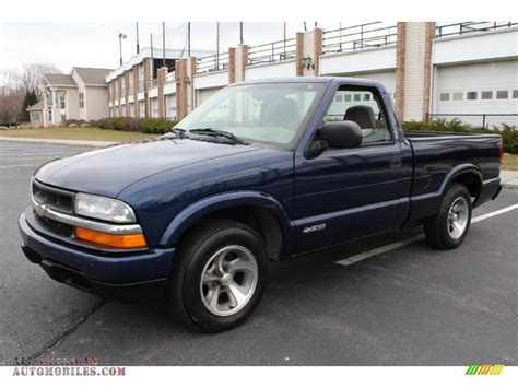 2003 chevrolet s10 for sale 2003 chevrolet s10 ls regular cab in indigo blue metallic
