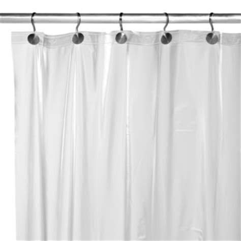 heavy shower curtain weighted buy heavy shower liners from bed bath beyond
