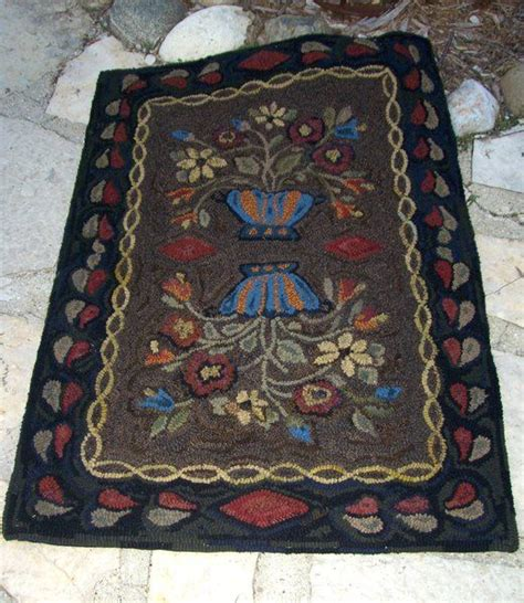 early american rugs 102 best images about primitive rug hooking patterns by kari miller cameron on
