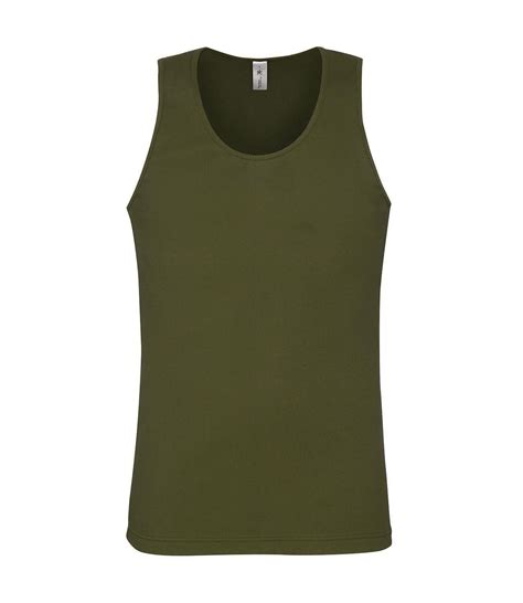 Singlet Armour Army army green tank top oasis fashion