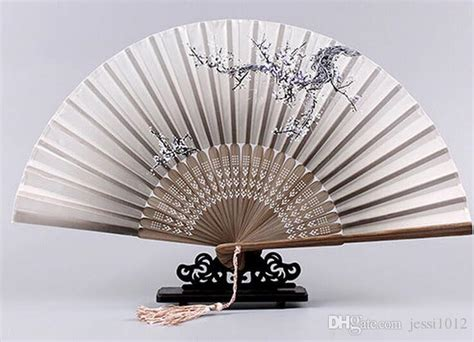 large decorative paper fans 2017 folding fan personalized decorative bamboo folding