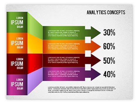 Analytics Concepts Charts For Powerpoint Presentations Chart Presentation Design