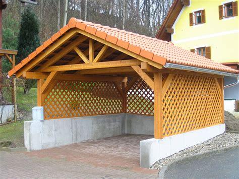 Autounterstand Metall Preise by Carport Wandverkleidung Holz Bvrao
