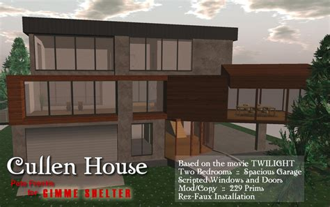 cullen house twilight second life marketplace twilight cullen house vire s modern home furniture