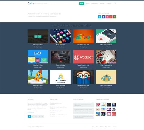 flat web design psd free vector graphic download
