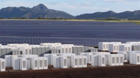 energy tesla tesla built a solar energy plant on the island of