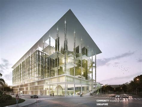 architecture ideas community hospital yishun gensler arch2o com