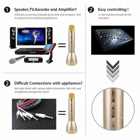 Mic Q7 Plastic Microphone Q7 Plastic Karaoke 1 k088 karaoke player bluetooth microphone speaker wireless