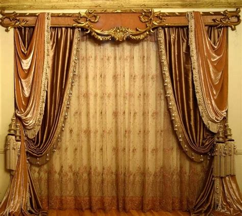 classic drapery home styling
