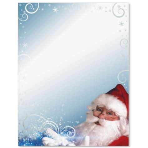 printable santa border paper santa s magic specialty border papers paperdirect