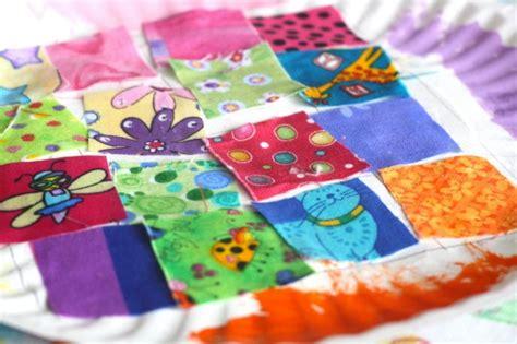 Paper Quilt Craft - paper plate quilt craft happy hooligans