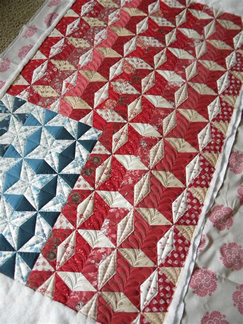 Flag Quilt by S Doodling Needle Flag Quilt