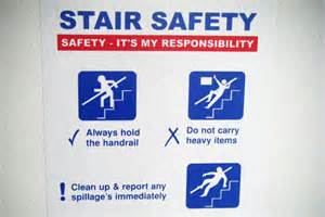 Stair Safety Poster by Stair Safety Symbol