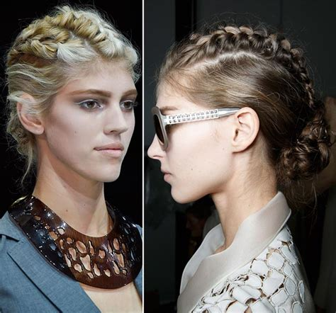 show spring 2015 fashion and hair trends for 65 year old women 2015 braided hairstyles from fashion shows hairstyles