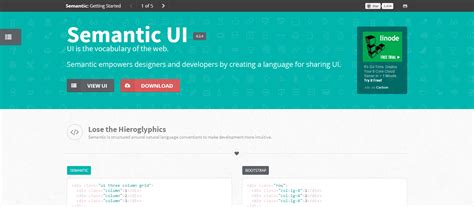 jquery tutorial and exles semantic ui layout exles 37 useful tools and resources for