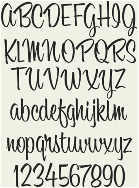 Free Bounce Lettering Font