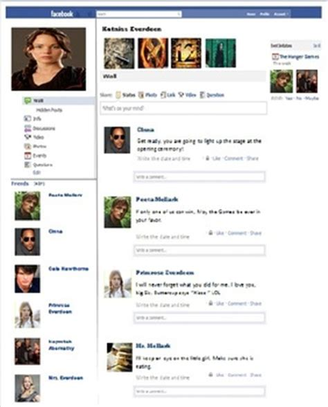 facebook page template for any content area by daniel