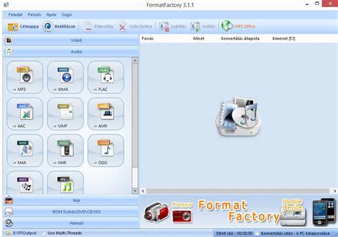 format factory portable magyar format factory let 246 lt 233 sek into