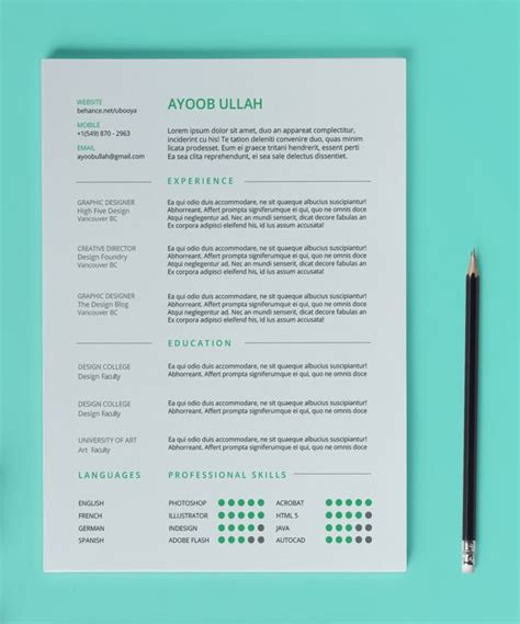 13 best images about free resume cv templates on