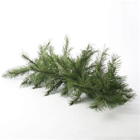 silver glitter tipped artificial pine swag new items