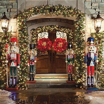 i want a christmas entrance like thise one christmas