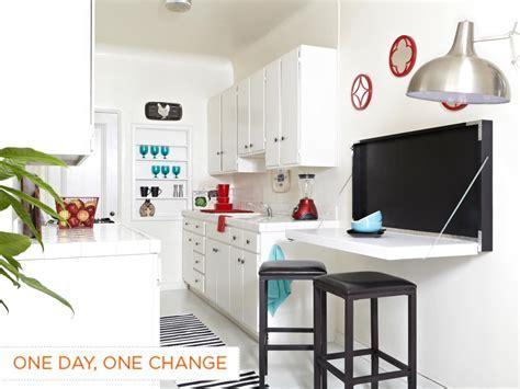 Build a Flip Down Kitchen Table   how tos   DIY