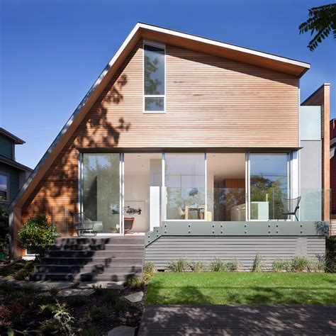 modern home design vancouver bc two bedroom residence showcasing an asymmetrical geometry