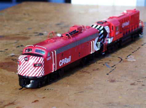 Cp N n scale cp rail fp 9a the diesel detailer