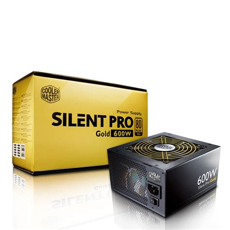 alimentatore 600w pc cooler master silent pro gold 600w modular 80plus gold