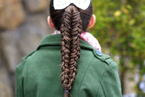 Twisted With An Edge twisted edge fishtail combo braid and updo