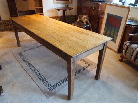 table edwardian oak refectory farmhouse dining kitchen