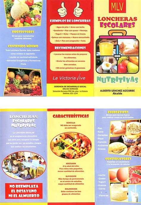 imagenes loncheras escolares loncheras escolares lonchera nutritiva pinterest