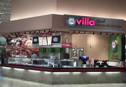 Villa Italian Kitchen Menu by Villa Pizza Times Square New York City