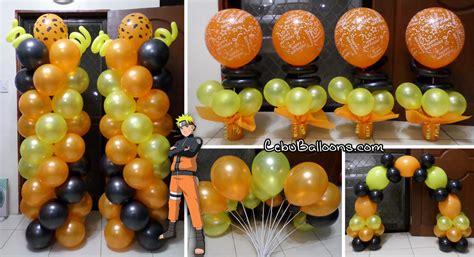 Purple Mood naruto cebu balloons and party supplies
