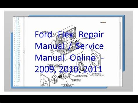 online auto repair manual 2011 ford flex windshield wipe control ford flex repair manual and service manual online 2009 2010 2011 youtube