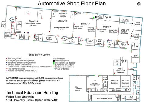 layout of workshop of automobile car workshop layout design body shop blueprint pictures