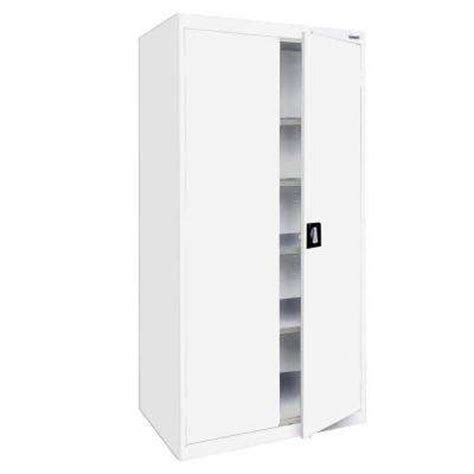 white storage cabinets at home depot white free standing cabinets garage cabinets storage