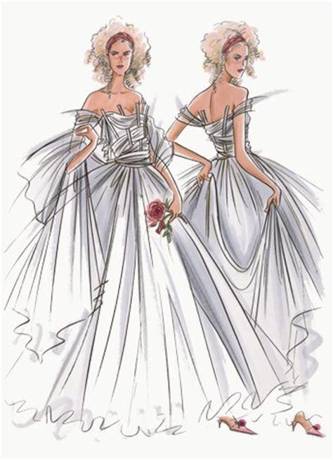 fashion illustration wedding dresses hilary kidd fashion illustrator womenswear bridal occasion