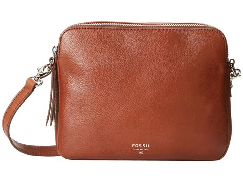 New Arrival Fossil Cross 1715 fossil sydney crossbody brown 1 zappos free shipping both ways