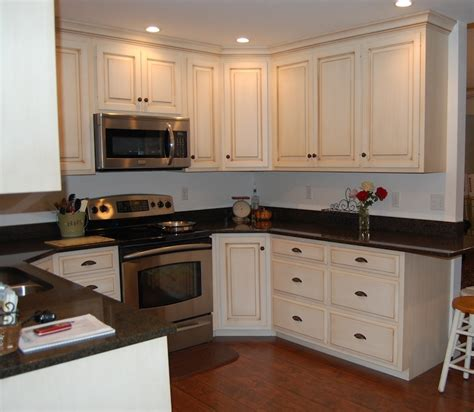 Painted Kitchen Cabinet by Paint Glaze Kitchen Cabinets Haus Custom