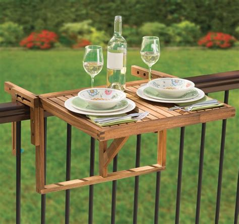 Balcony Railing Table by Balcony Railing Tables Deck Table